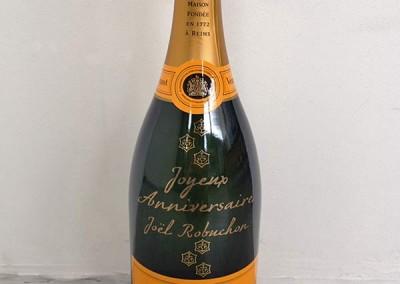 decoration-bouteille-champagne-robuchon